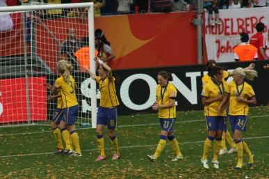 Sembrant, Schelin, Göransson, Edlund och Öqvist.