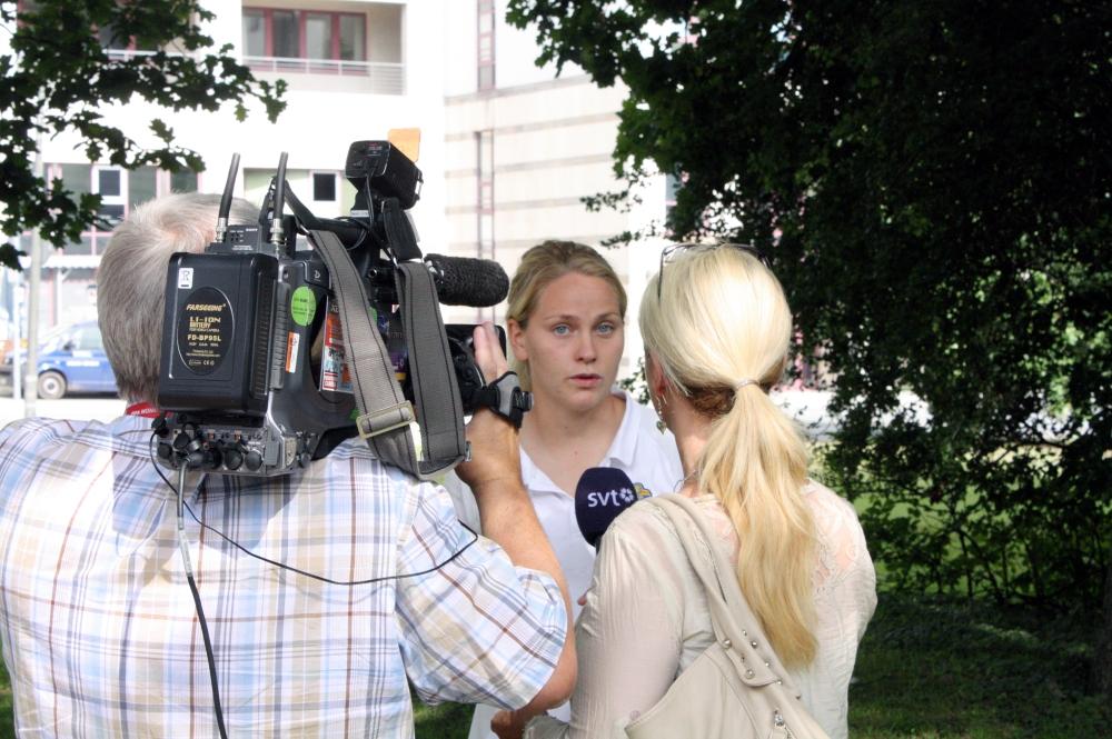 Lisa Dahlkvist i fokus