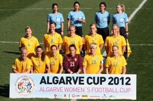 Startelva mot Tyskland i Algarve cup