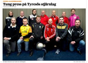 Damallsvenskans tränare 2012