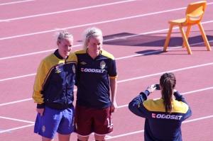 Marie och Kristin Hammarström