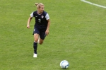 Heather Mitts i aktion