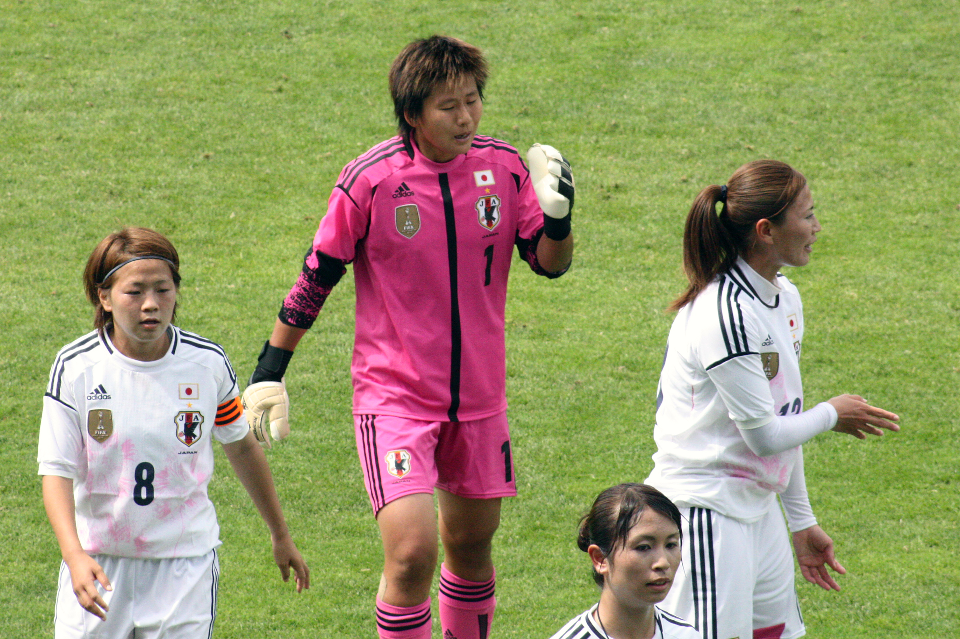 Rumi Utsugi En blogg om internationell damfotboll    Miyama, Kaihori, Sameshima och Utsugi i halvtid   title=          En blogg