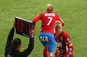 Sara Larsson byts in