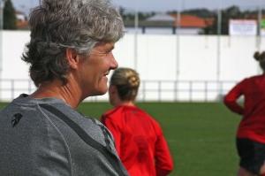 Coach Pia Sundhage