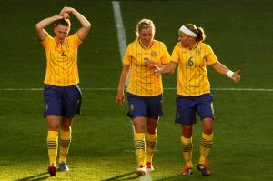 Emma Berglund, Linda Sembrant och Sara Thunebro