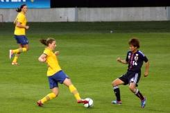 Antonia Göransson mot Asuna Tanaka