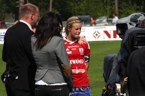 Sofie A i Tv4sport