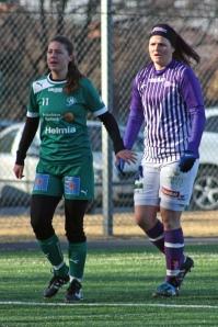 Linda Wallin och Mikaela Uthas.