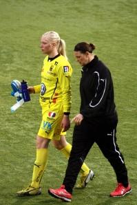 Malin Reuterwall och Caroline Jönsson