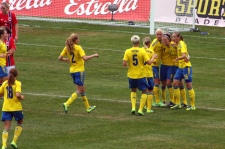 Sverige har gjort 1-1.