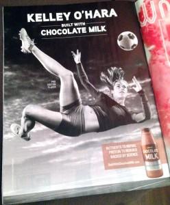 Kelley O'Hara - byggd av chokladmjölk