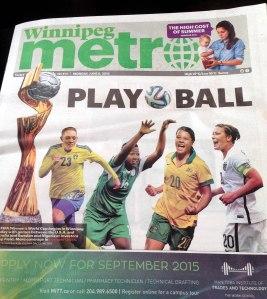 Winnipeg Metro 8 juni 2015