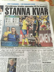 Ur Expressen, 28 januari 2015