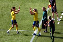 Lotta Schelin ut, Stina Blackstenius in