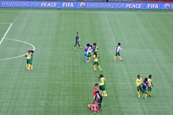 Kamerun firar segern