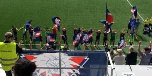 LFC firar med supportrarna