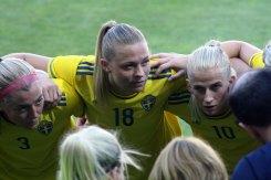 Linda Sembrant, Fridolina Rolfö och Sofia Jakobsson