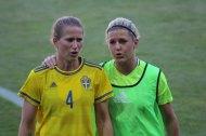 Emma Berglund och Olivia Schough