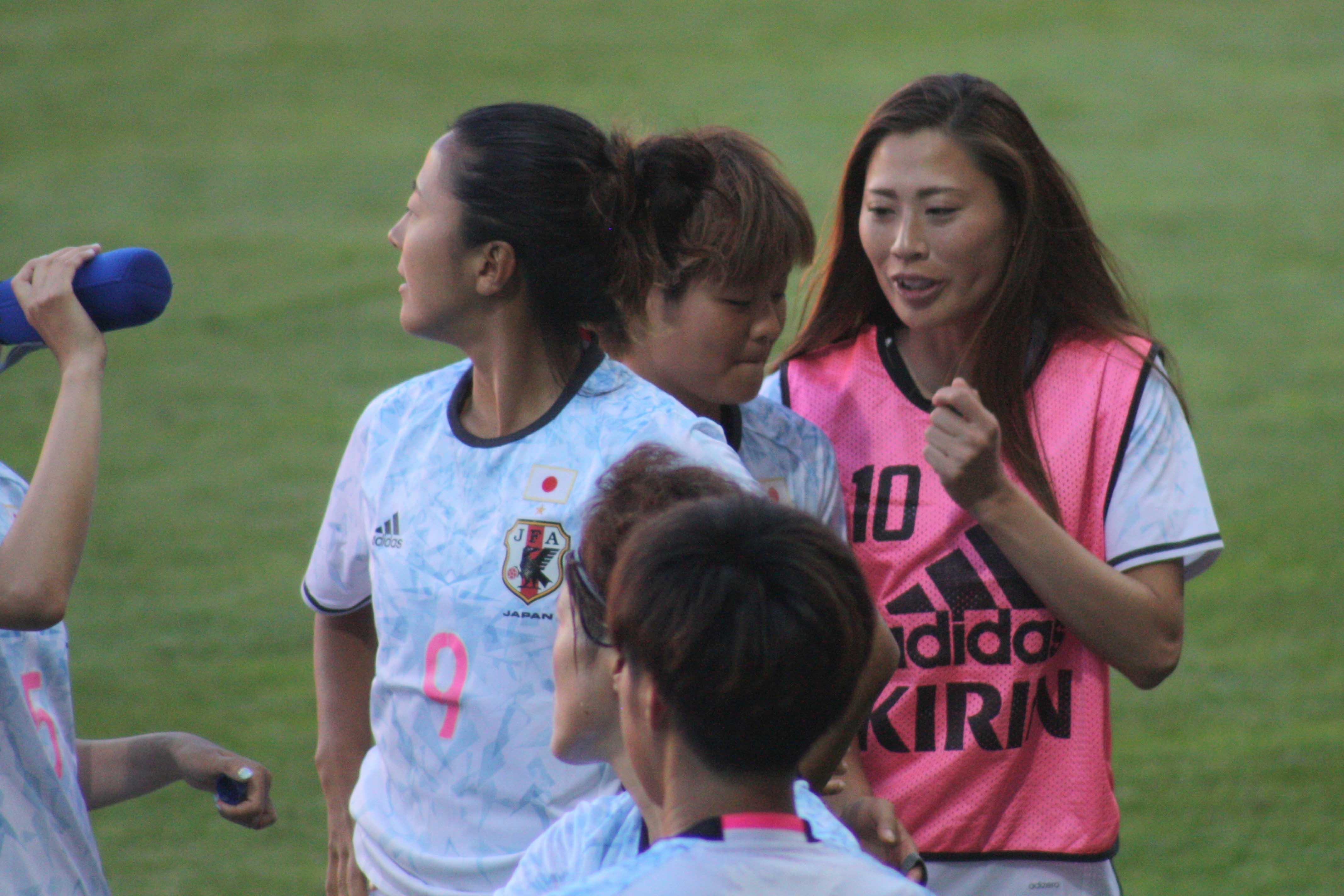 Rumi Utsugi En blogg om internationell damfotboll    Nagasato, Masuya och Utsugi   title=          En blogg om internationell