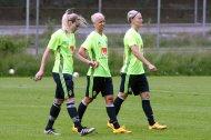 Lisa Dahlkvist, Caroline Seger och Nilla Fischer