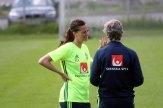 Lotta Schelin och Pia Sundhage