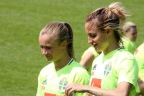Tove Almqvist och Nathalie Björn
