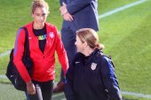 Lynn Williams och Jill Ellis