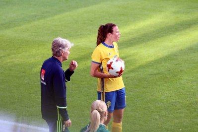 Pia Sundhage och Jessica Samuelsson