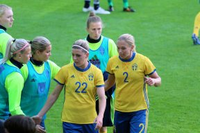 Olivia Schough och Jonna Andersson