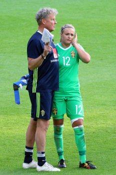 Mikael Olsson och Hilda Carlén
