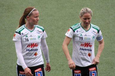 Elin Nyman och Frida Broström