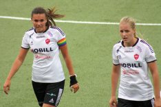 Anna Welin och Michaela Johnsson