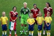 Monica Ocampo, Bianca Henninger, Kenti Robles och Christina Murillo.