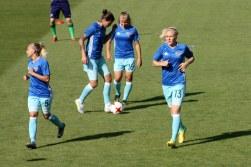Viktoriya Shkoda (5), Marina Fedorova (16) och Anna Belymyttseva (13).