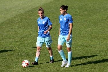 Marina Kiskonen och Nadezhda Karpova