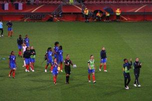 Frankrike tackar fansen