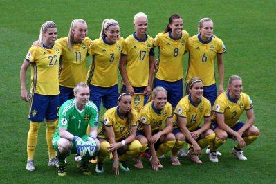 Sveriges EM-elva mot Italien