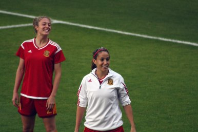 Celia Jimenez och Olga Garcia