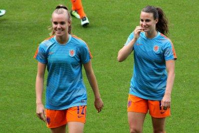 Jill Roord och Renate Jansen