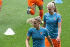Jackie Groenen och Kika van Es
