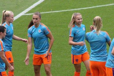Kika van Es, Lieke Martens och Jackie Groenen