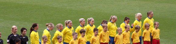 Sveriges EM-elva mot Nederländerna