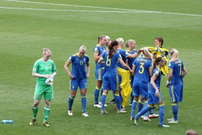 Sverige laddar för kvartsfinal.