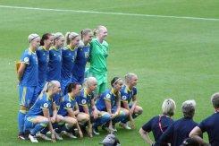 Sveriges startelva i EM-kvartsfinalen.