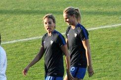 Claire Lavogez och Amandine Henry