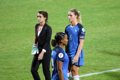 Marie-Laure Delie och Amandine Henry