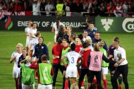 England firar