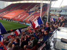 Franska fans