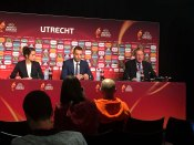 Olivier Echouafni på presskonferens